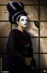 Geisha Violetta by Damariss