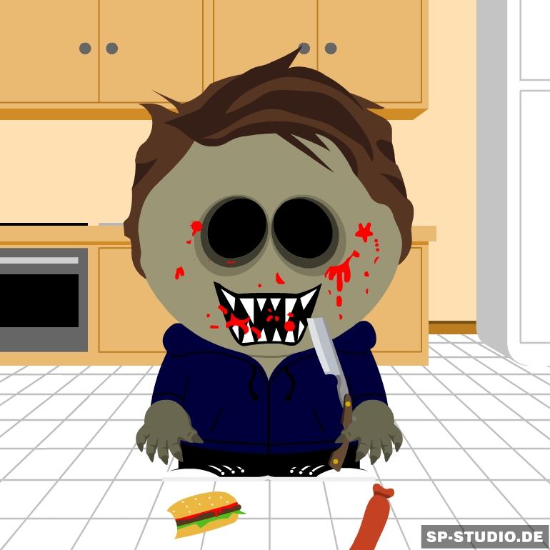 South Park: Eyeless Jack by XxTheShadowWalkerxX