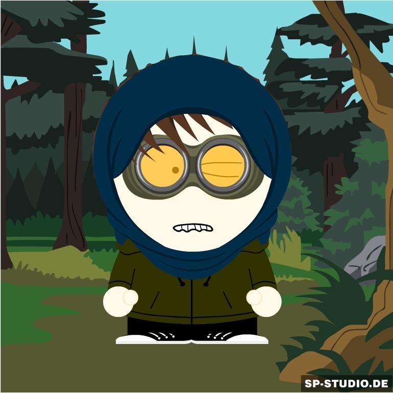 South Park: Ticci Toby by XxTheShadowWalkerxX