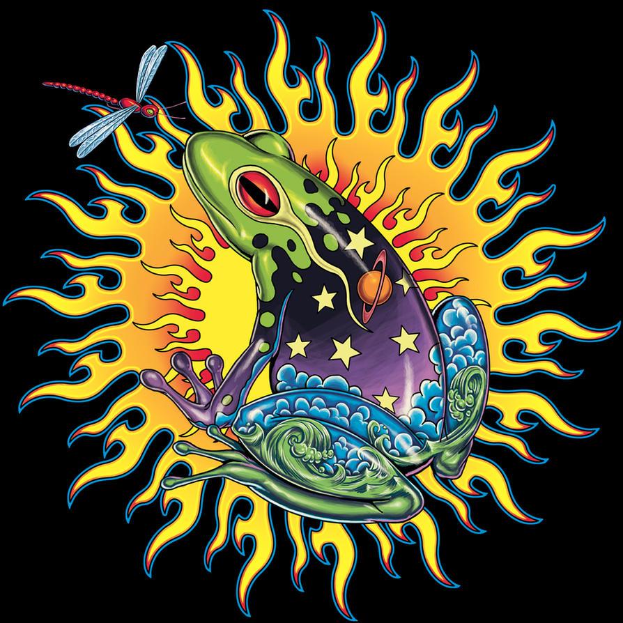 Frog T Shirt Design