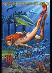 LOST SQUADRON Fantasy Diver Greg Andrews Artist by Greg-Andrews-Art
