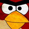 Angry Red Bird icon by KINGMEZOARTS
