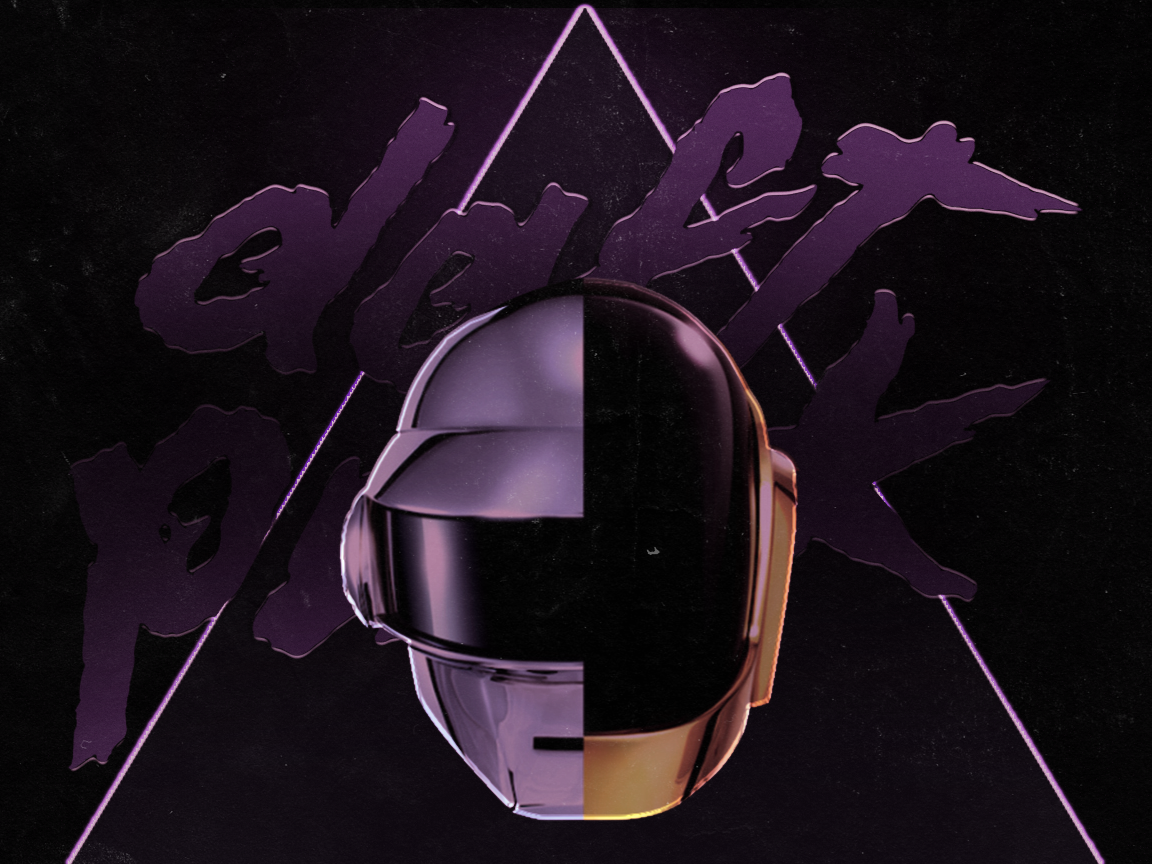 Daft Punk Wallpaper by KINGMEZOARTS on DeviantArt