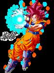Goku Ssj God Red