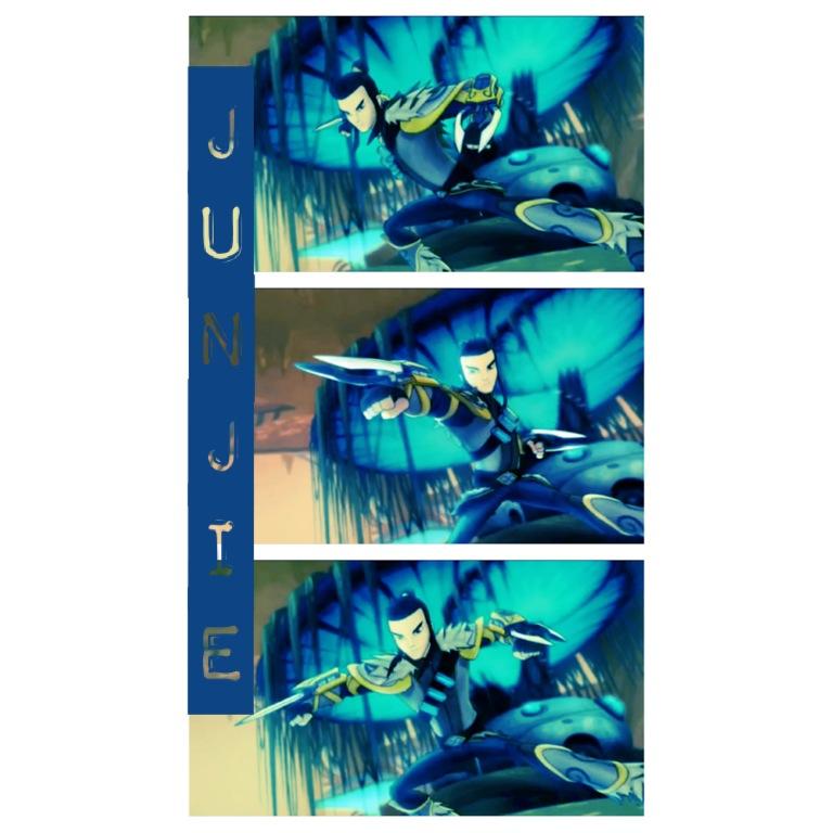 Junjie edit by DaisyShaneningham