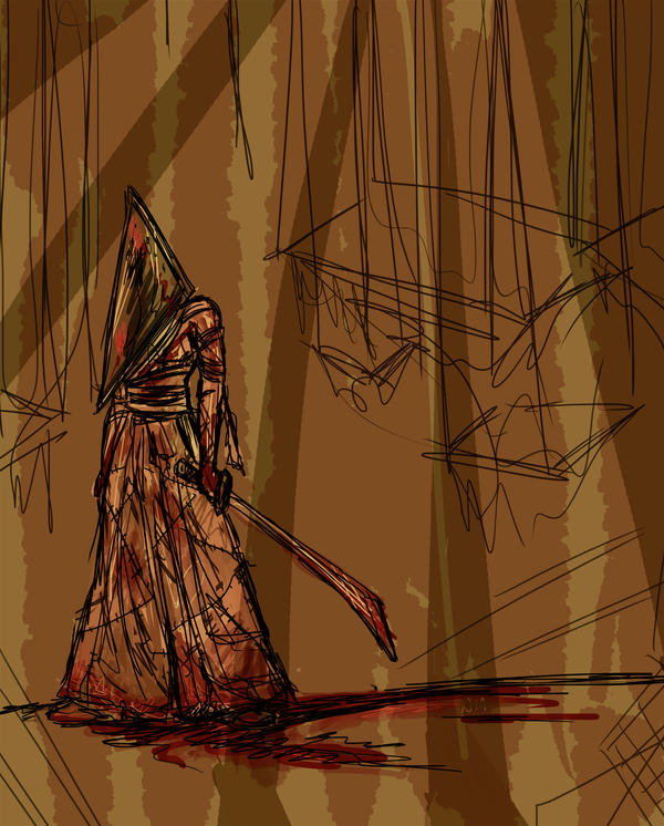 Samurai Pyramid Head by Sooim