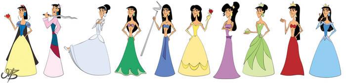 Disney's Best Princess by venonsting