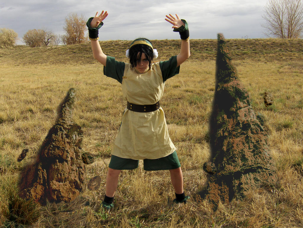 Toph Cosplay 4 by Ssafloyd
