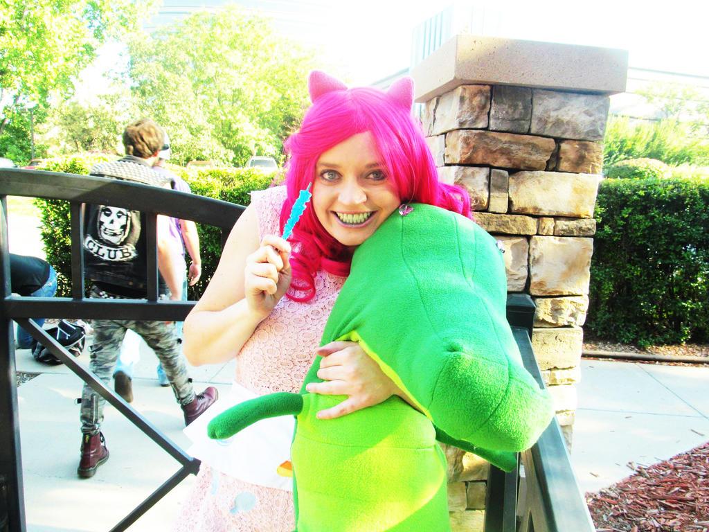 Pinkie Pie and Gummy!!! by Ssafloyd