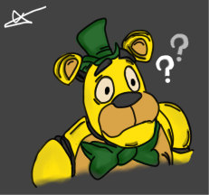 Fred Doen't Understand by CircusFredBear2004