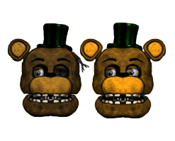 Withered And UnWithered CircusFred by CircusFredBear2004