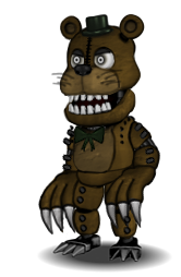 Monster Fred\YellowBear by CircusFredBear2004
