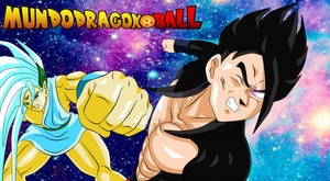 Black Gohan vs dios tridimensional