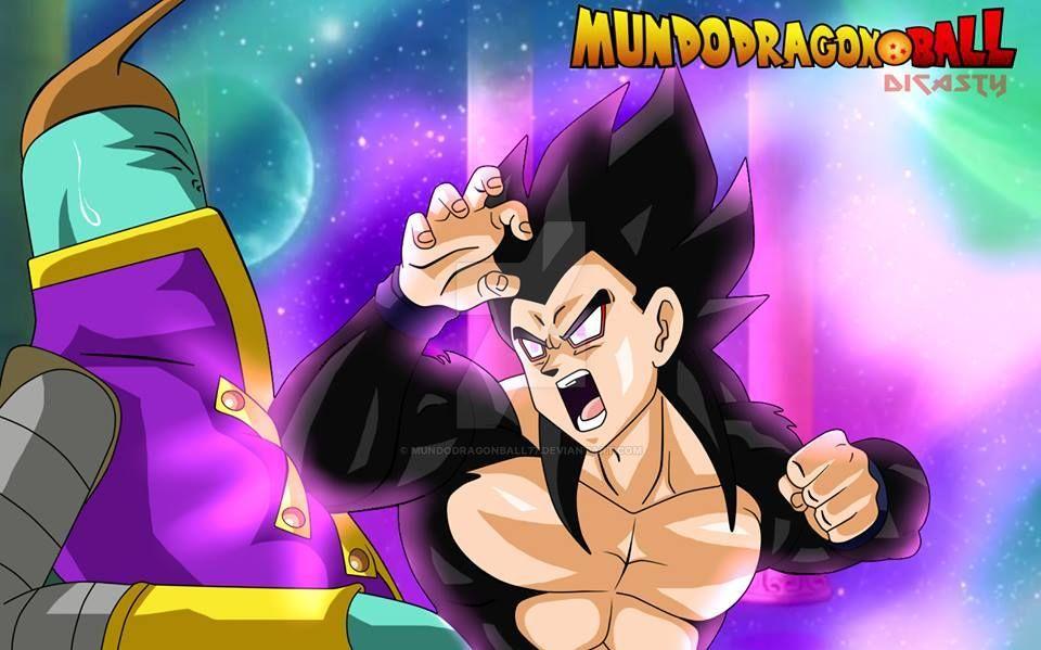 Black Gohan derrota la defensa de Zenosama by MundoDragonBall77