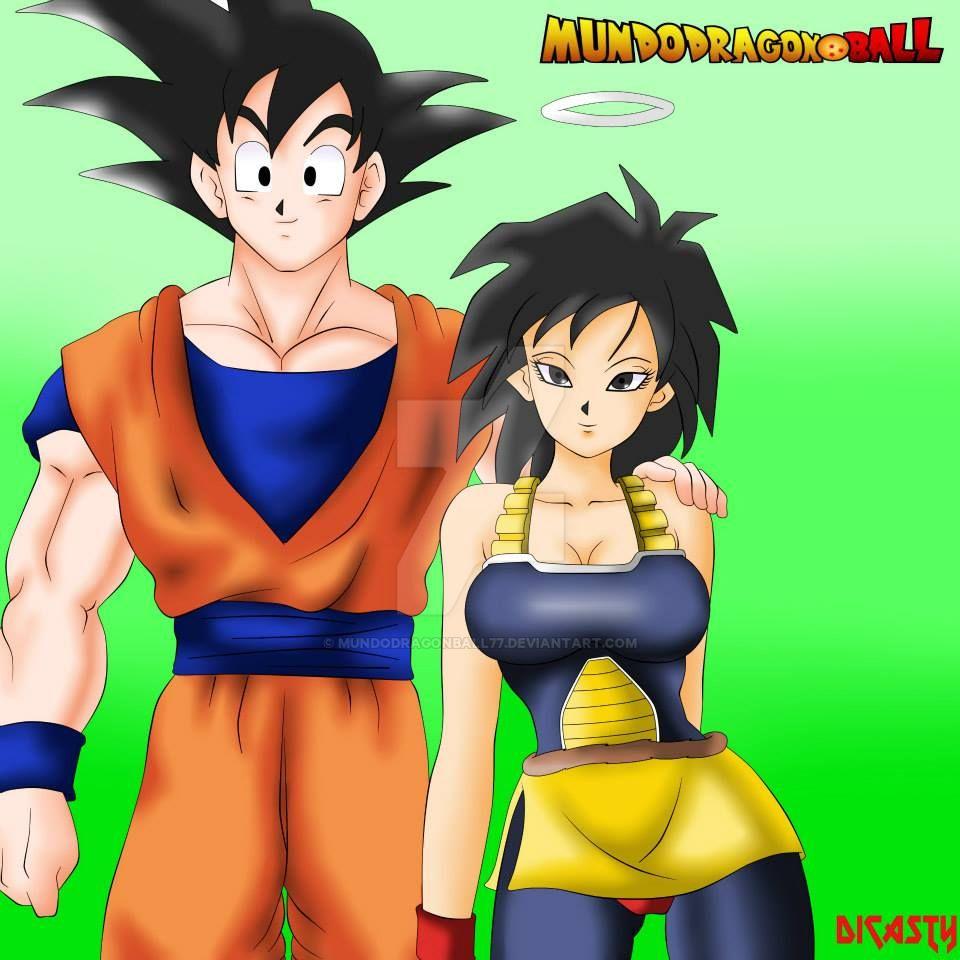 Goku y su madre by MundoDragonBall77
