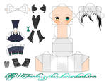 AMOUR SUCRE: Chibi Lysandre Papercraft