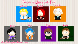 AMOUR SUCRE: South Park + Guys AS
