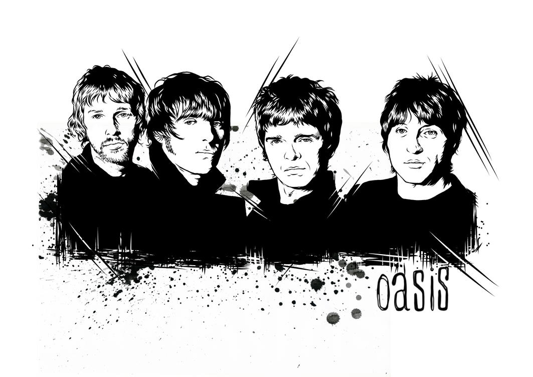 oasis by ARTbhie on DeviantArt Oasis Band 1995