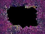Border Texture- Purple Glitter