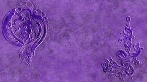 Background- Embossed Purple