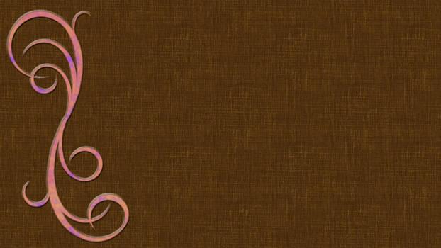 Background- Flourished Brown