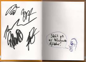 Sabaton autographs for deviantID by RoguesAndGhosts