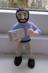 BILLY MAYS WISHES YOU A HAPPY CAPS LOCK DAY by RoguesAndGhosts