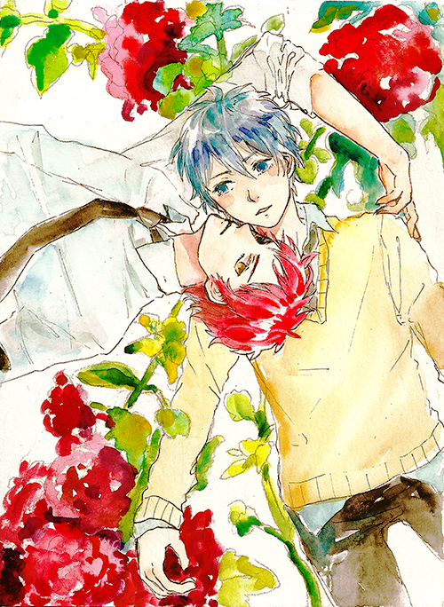 Kuroko and Akashi by b-snippet