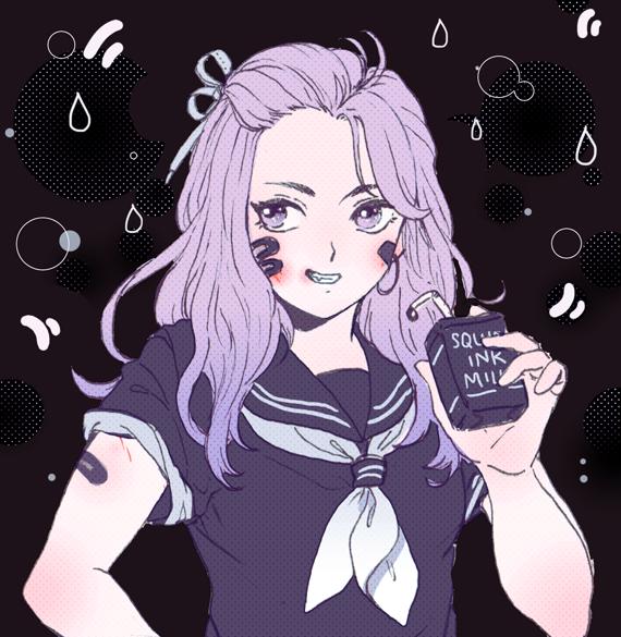 Squid Ink Milk by b-snippet