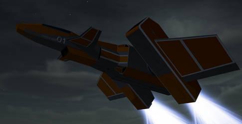 Phoenix 01 Variable Geometry Fighter