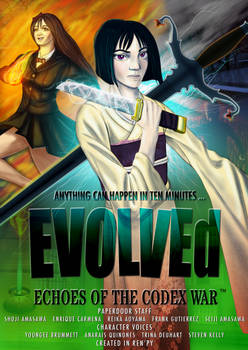 EVOLVEd : Echoes of the Codex War - Now Available!