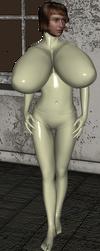Cream Bimbo Mannequin Suit 4 by chimatronx
