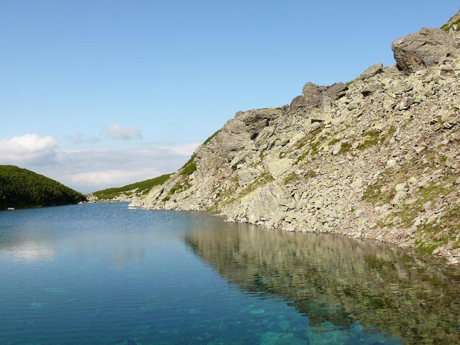 Glaciar lake by lumixdmc850