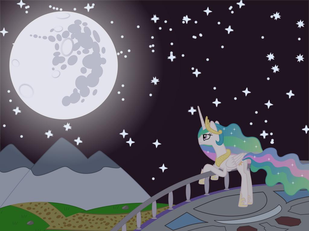 Celestia Stargazing by Skylark-Torch