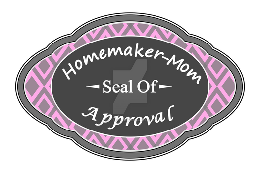 Homemaker-Mom Seal of Approval (vector)