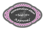 Homemaker-Mom Seal of Approval (vector)