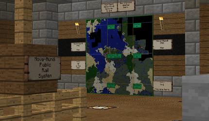 Nova Mundi Spawn (Train Station Map)