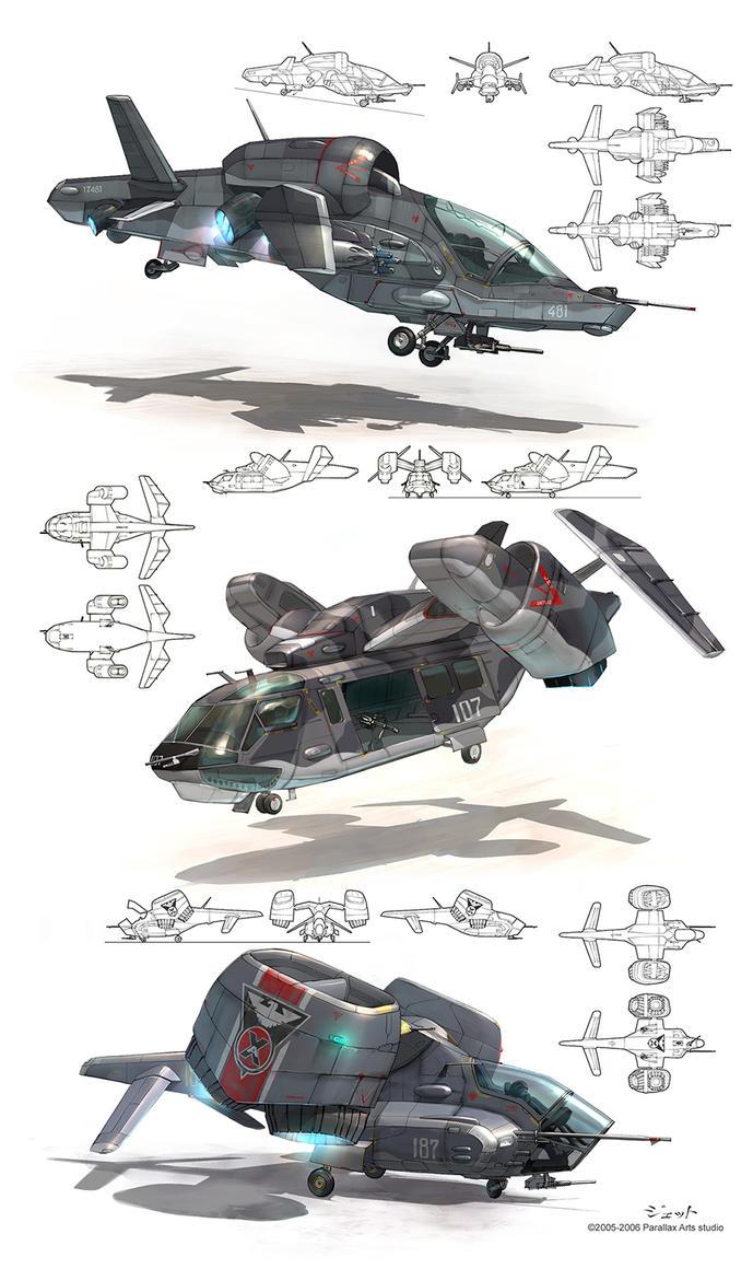 VTOL concepts by Jett0