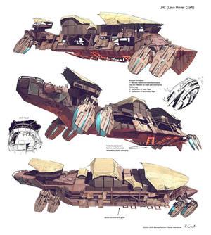 Lava hover craft concept