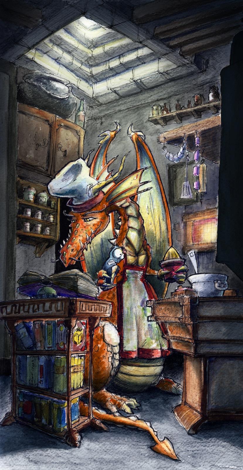 The Orange Master by Starshrouded