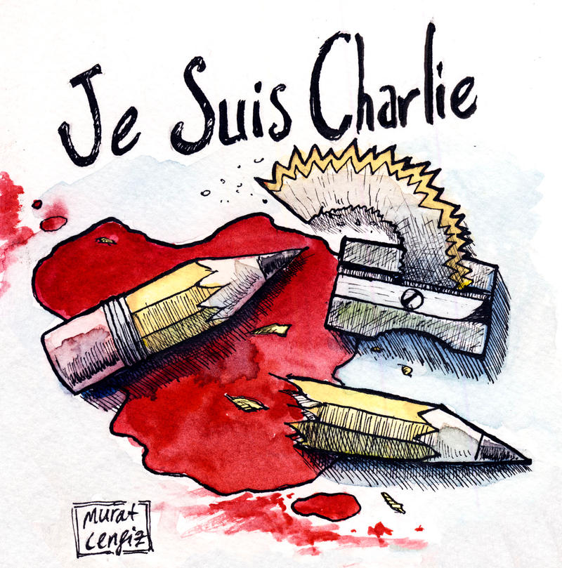 Je Suis Charlie by Starshrouded