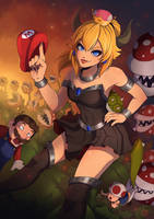 Bowsette by Kriniere