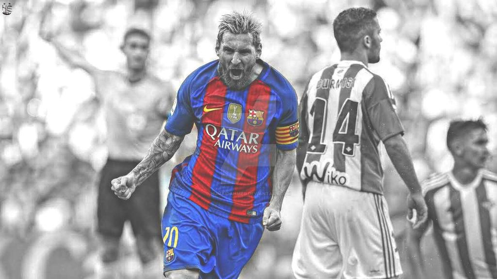 Messi wallpaper (2016/17) by humaidahmed ...