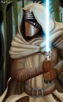 Jedi Kylo Ren by MaddKatzArtStudio