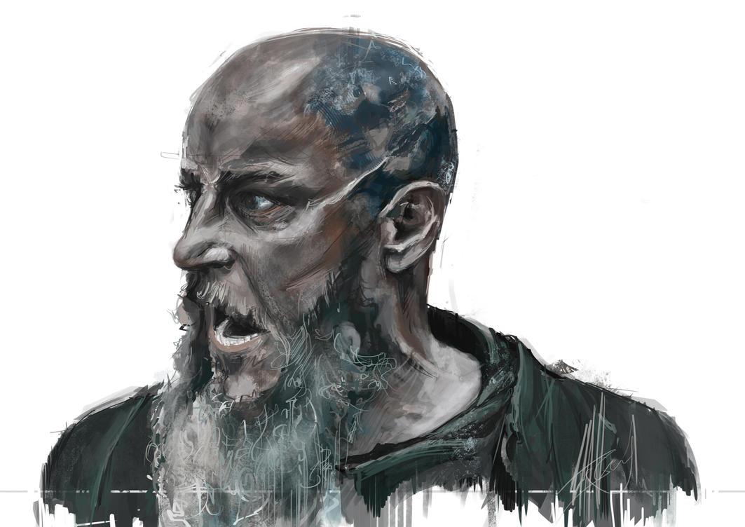 Ragnar Lothbrok by Irishmellow