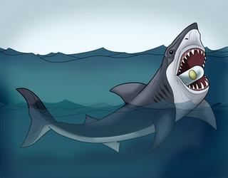 Jaws by MechanicalFirefly