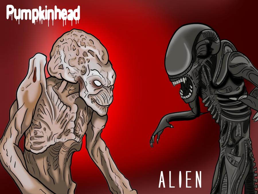 Pumpkinhead Vs Alien By JackieTheFox On DeviantArt
