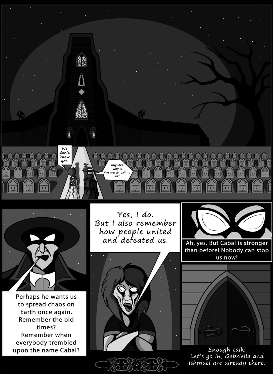 Blood comic- Page 2