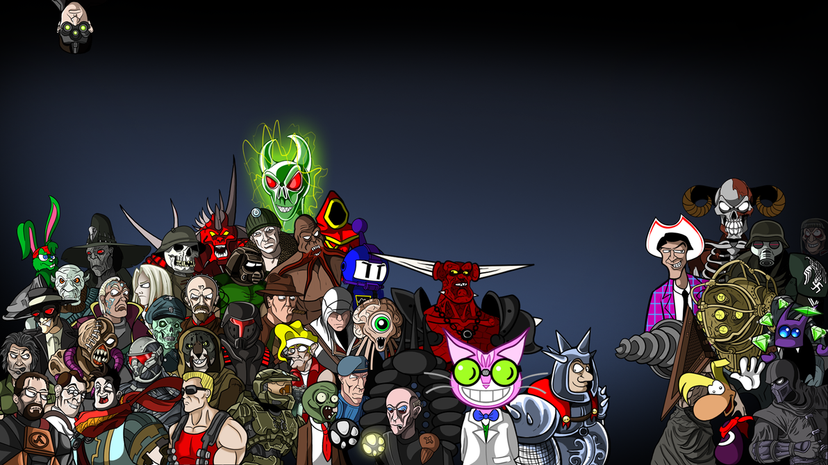 gamer 39 s wallpaper extended version by jackiethefox on