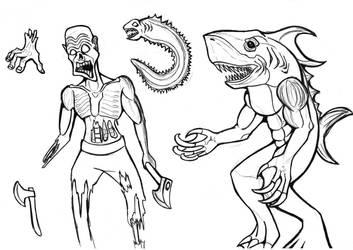 Blood comic- concept art by MechanicalFirefly